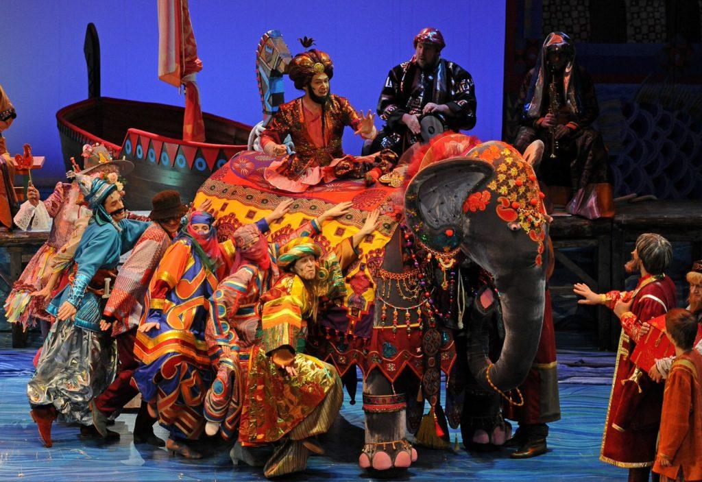 Мюзикл Аленький цветочек в Театриуме