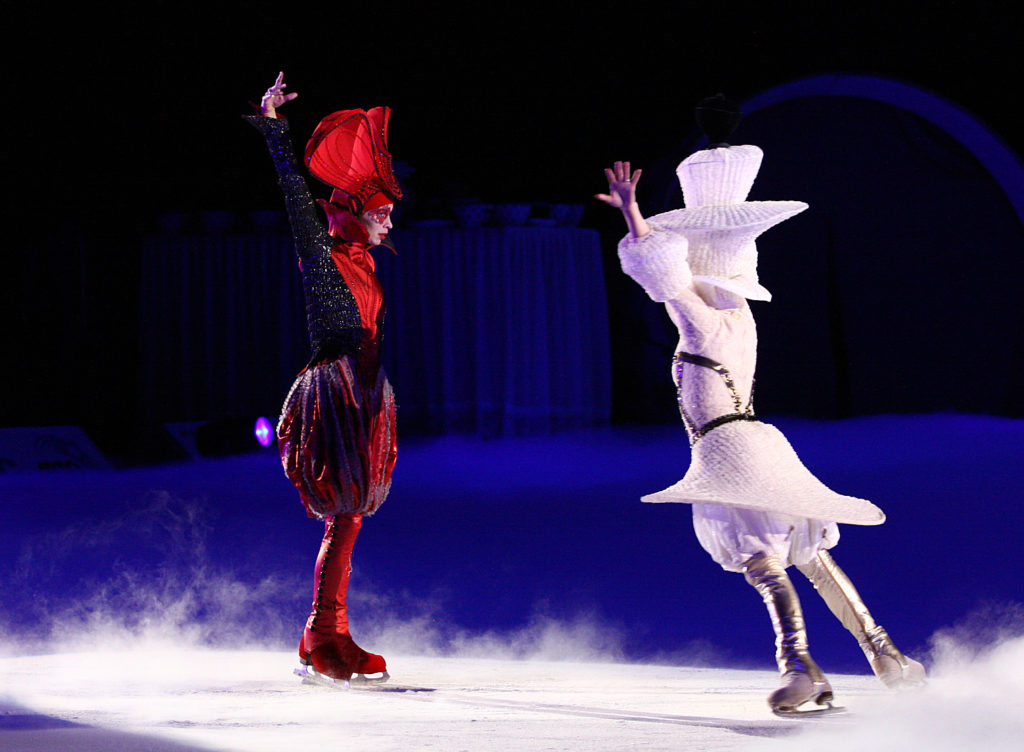 Спектакль на льду «Алиса в зазеркалье» 24 марта 2018