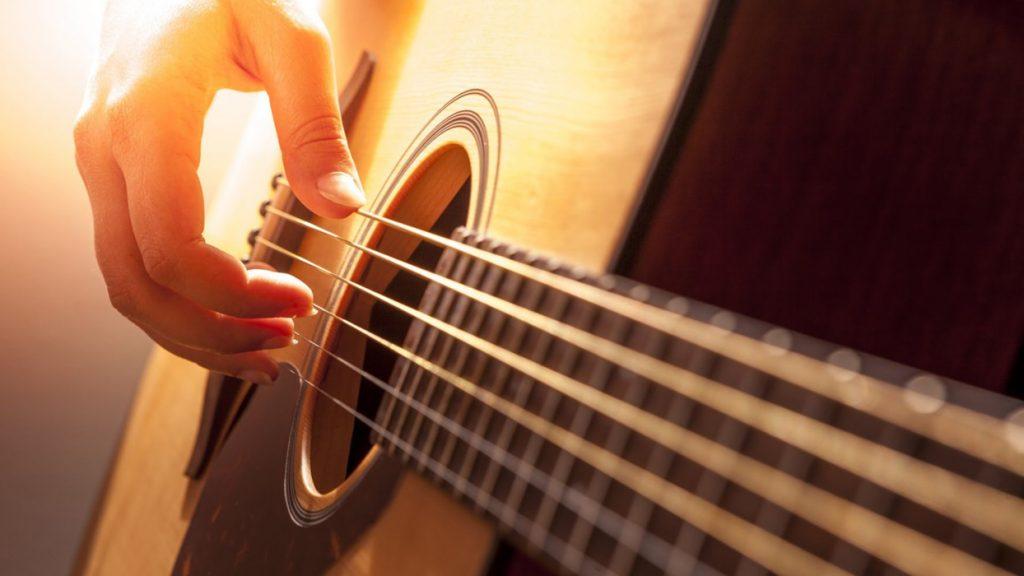 Купон на обучение игре на гитаре