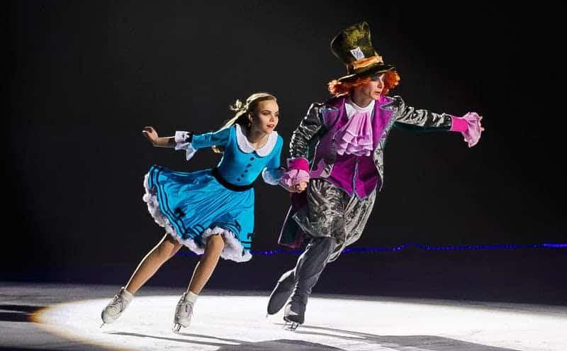 Билеты на спектакль на льду «Алиса в зазеркалье»