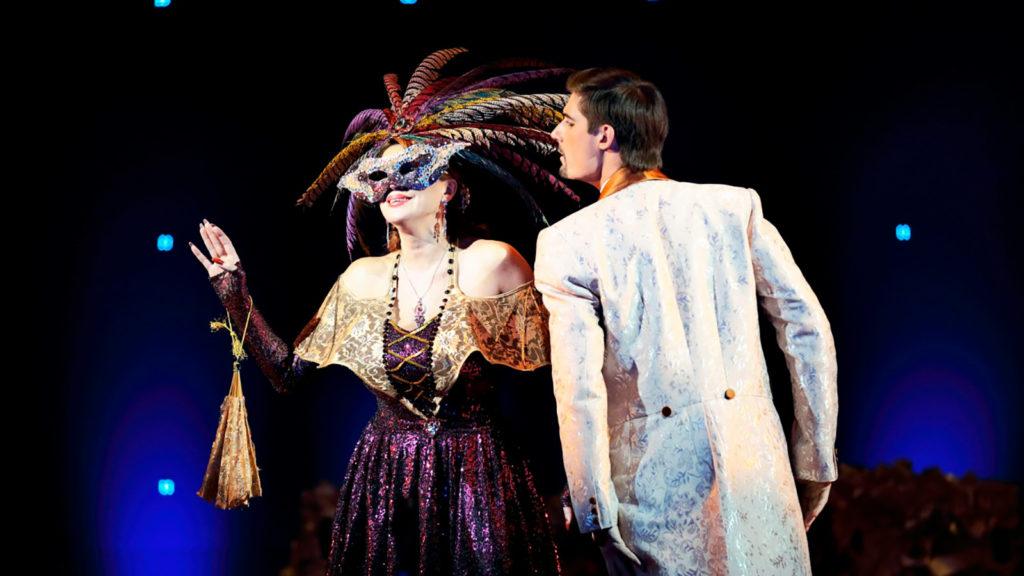Спектакль «Летучая мышь» в театре оперетты