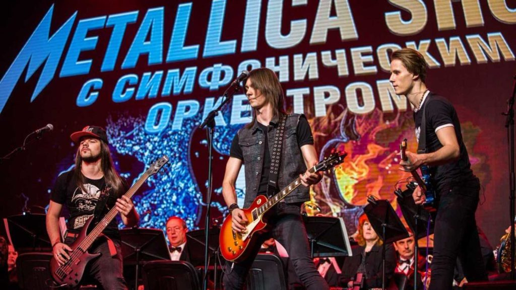 Трибьют шоу Metallica show
