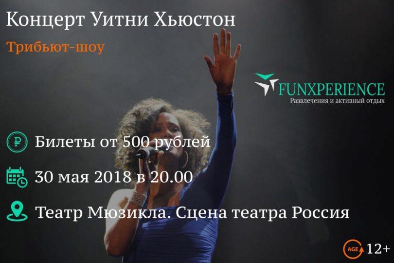 Концерт Уитни Хьюстон