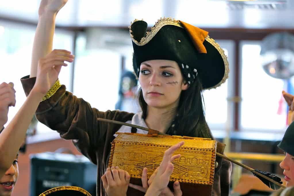 Антипиратский квест. Последам пиратов занастоящими сокровищами