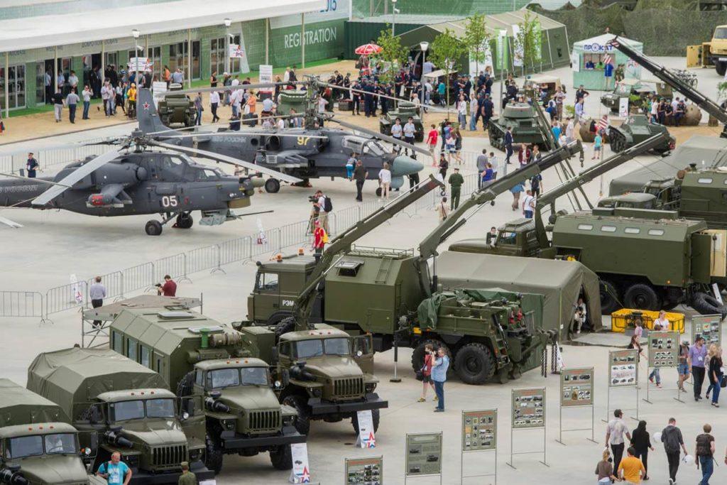 Международный военно-технический форум «АРМИЯ-2018»