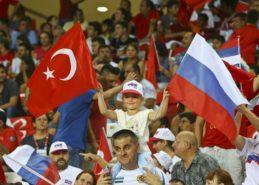 Товарищеский матч Россия-Турция