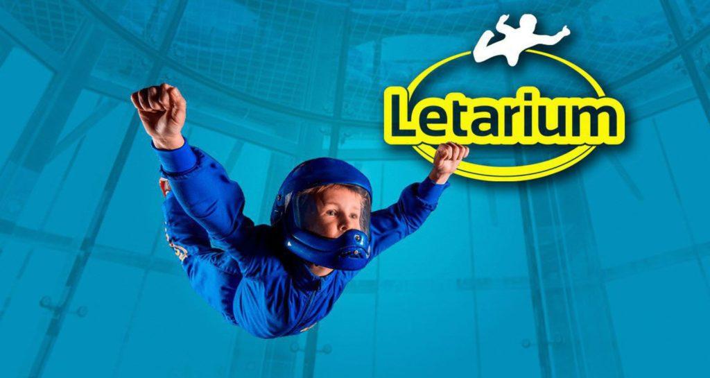 Полет в закрытой аэротрубе «Летариум»