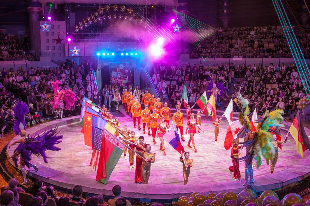 17 международный фестиваль циркового искусства