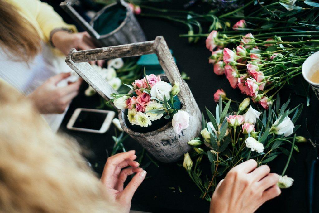 Мастер-класс пофлористикеотстудии пофлористике идекору Flower Loft