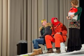 Спектакль Однажды на льдине