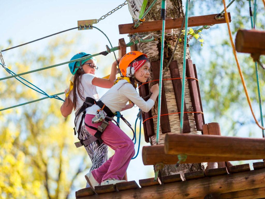 Активный отдых в веревочном парке «Гамми Парк»
