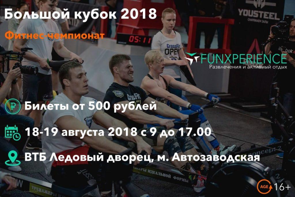 Билеты на Большой кубок 2018