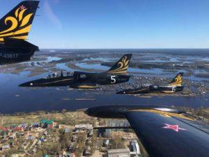 Экскурсия к пилотажной группе «Русь»