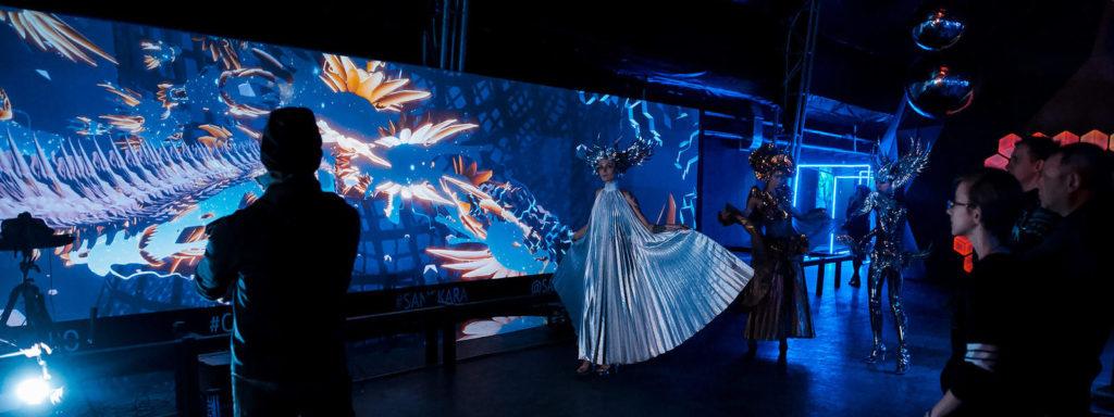Иммерсивная выставка Samskaraвцентре дизайна Artplay в Москве
