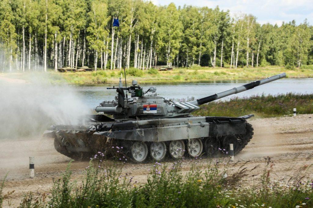 Танковый Биатлон 2018в рамках Армейских международных игр