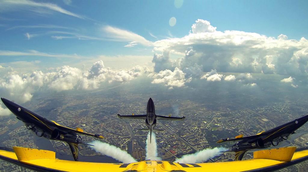 Экскурсия к пилотажной группе «Русь» вВяземский учебный авиационный центр