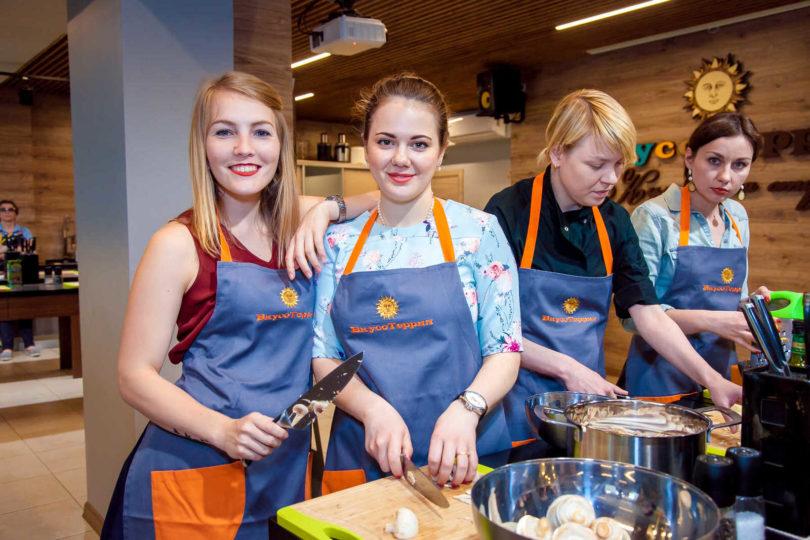 Кулинарный мастер-класс в Москве