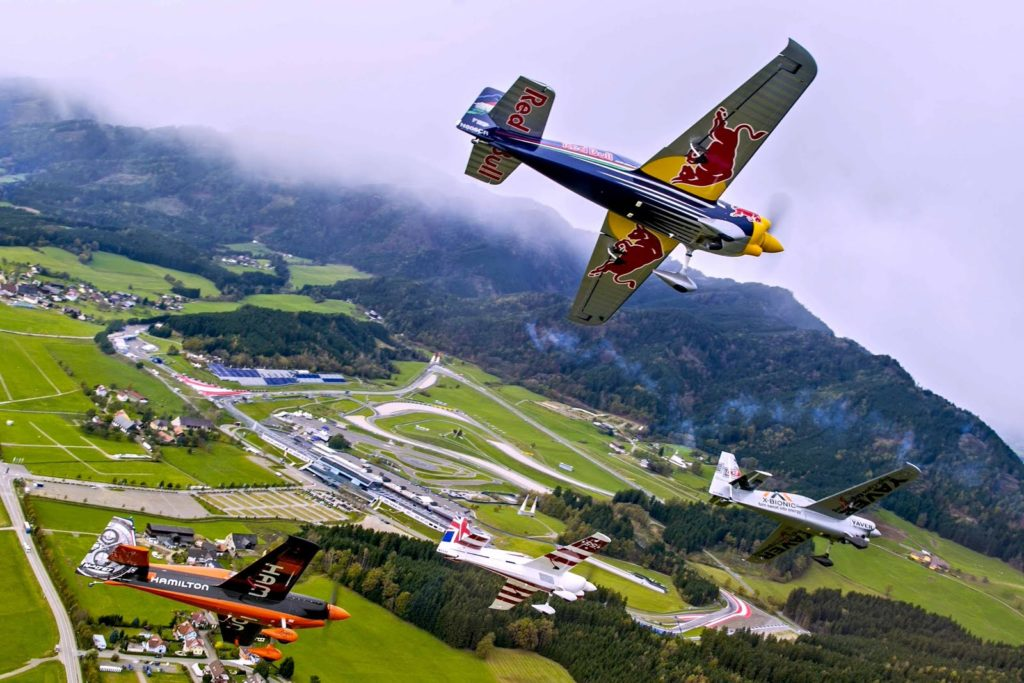 Чемпионат мира по авиагонкам Red Bull Air Race«Воздушная гонка»