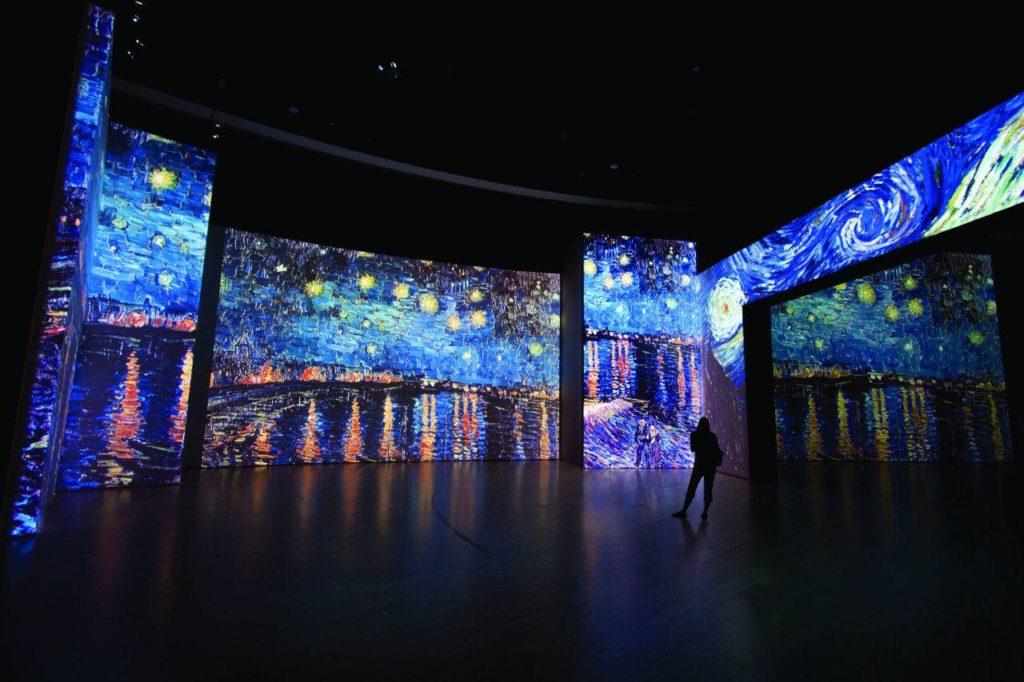 Мультимедийная выставка «Ван Гог. Письма к Тео» в Москве
