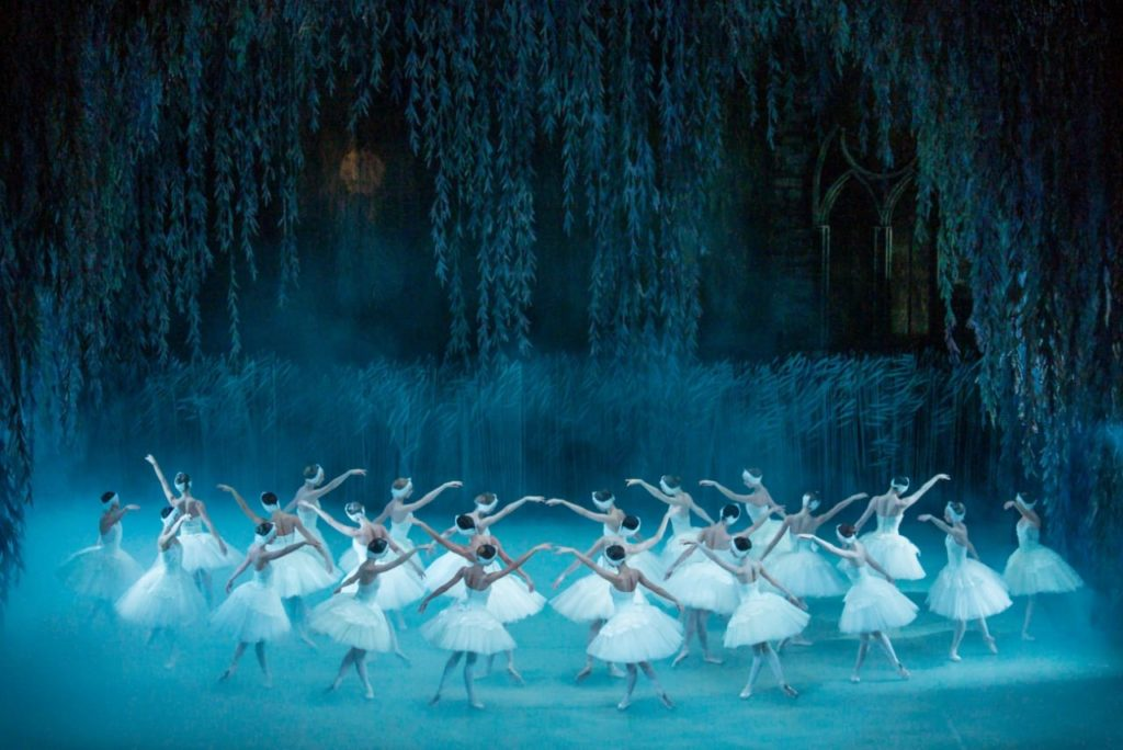 Знаменитый балет «Лебединое озеро» в Большом театре