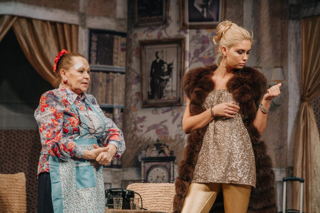Спектакль «Авантюристы поневоле» в Театриуме