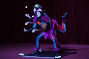 Представление «Девочка, влюбленная в цирк»