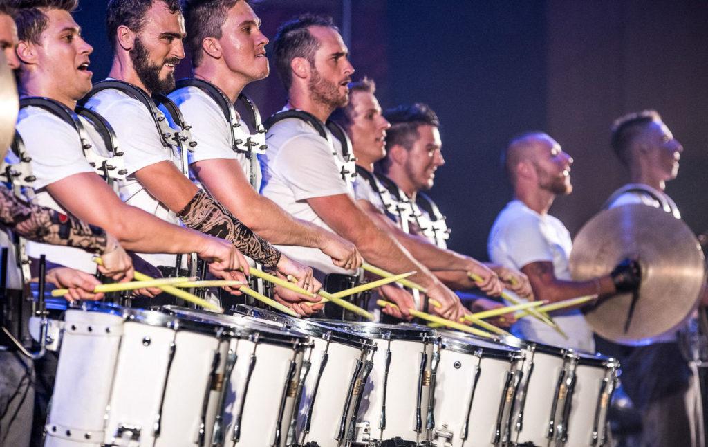 Vasiliev Groove - шоу барабанщиков №1