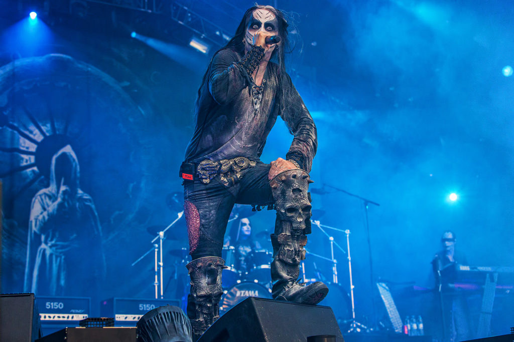 Концерт Dimmu Borgir в Москве