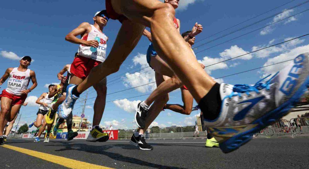Участие в Кубке России по бегу в Москве