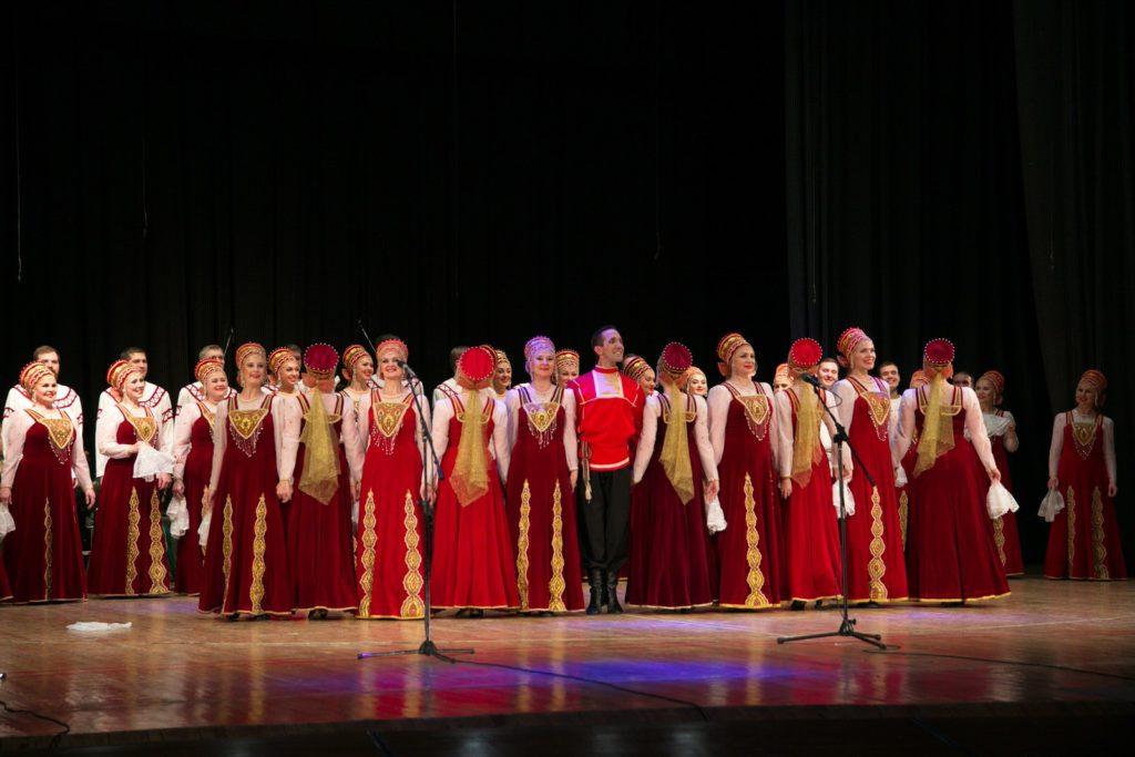 Концерт Уральского народного хора