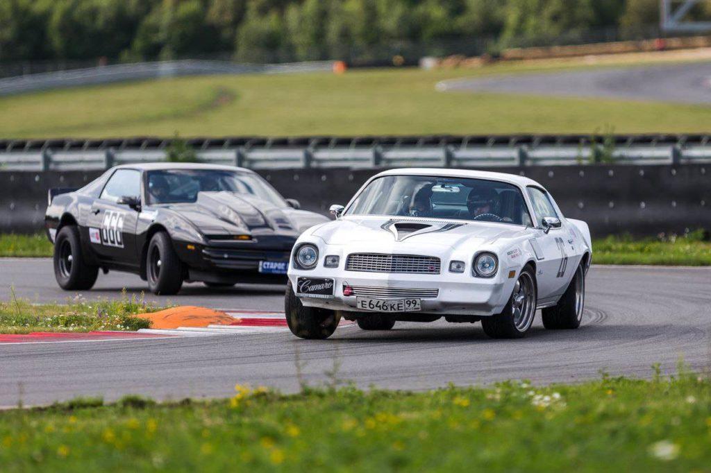 Russian Vintage Racing. Кольцевые гонки на классических автомобилях