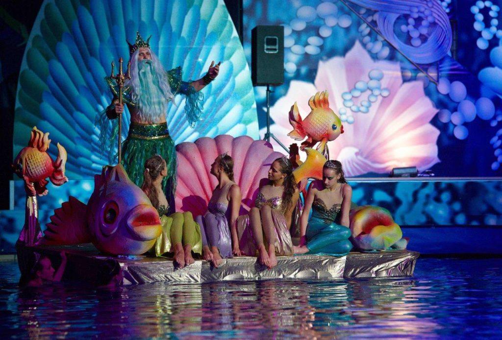 Цирковое шоу «Русалочка» в Цирке Чудес