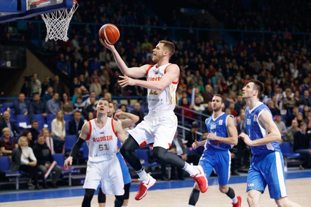 Квалификацияк Кубку мира по баскетболу ФИБА 2019 Россия-Болгария