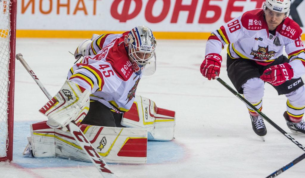 Хоккейный матч Спартак - Куньлунь PC