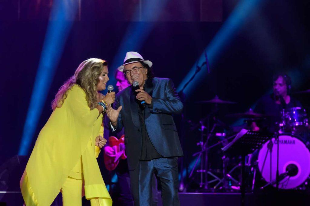 Концерт Al Bano и Romina Power. Felicita на бис