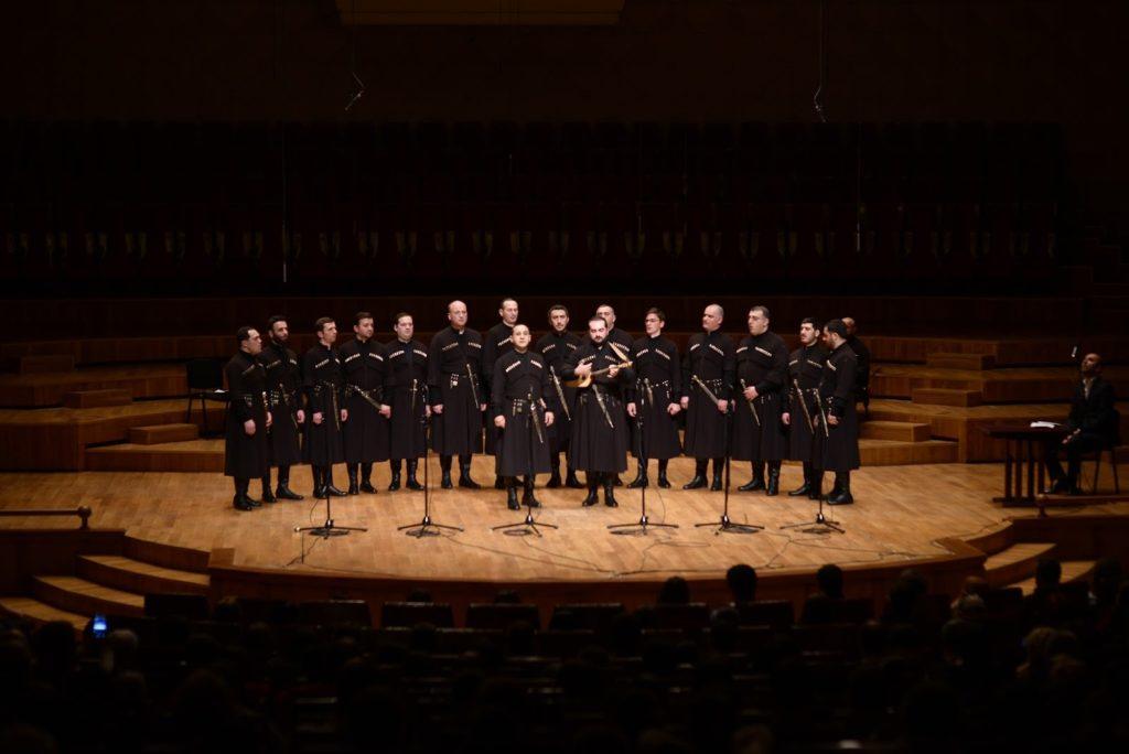 Концерт грузинского хора «Ибери»