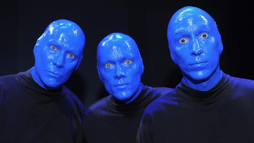 Шоу Blue Man Group