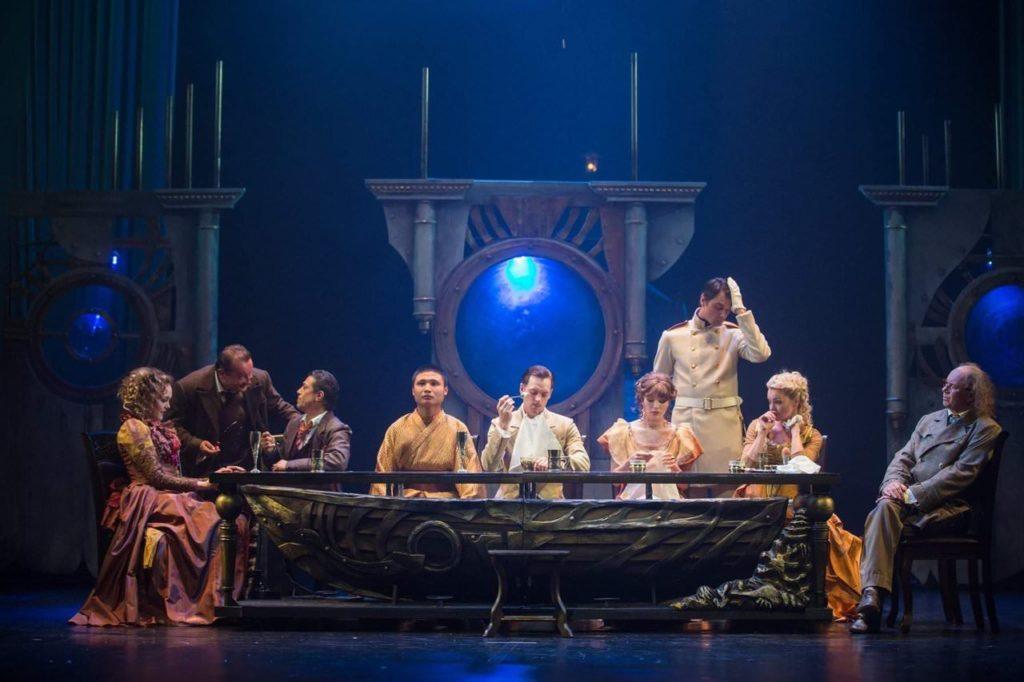 Спектакль «Приключения Фандорина»в Губернском театре