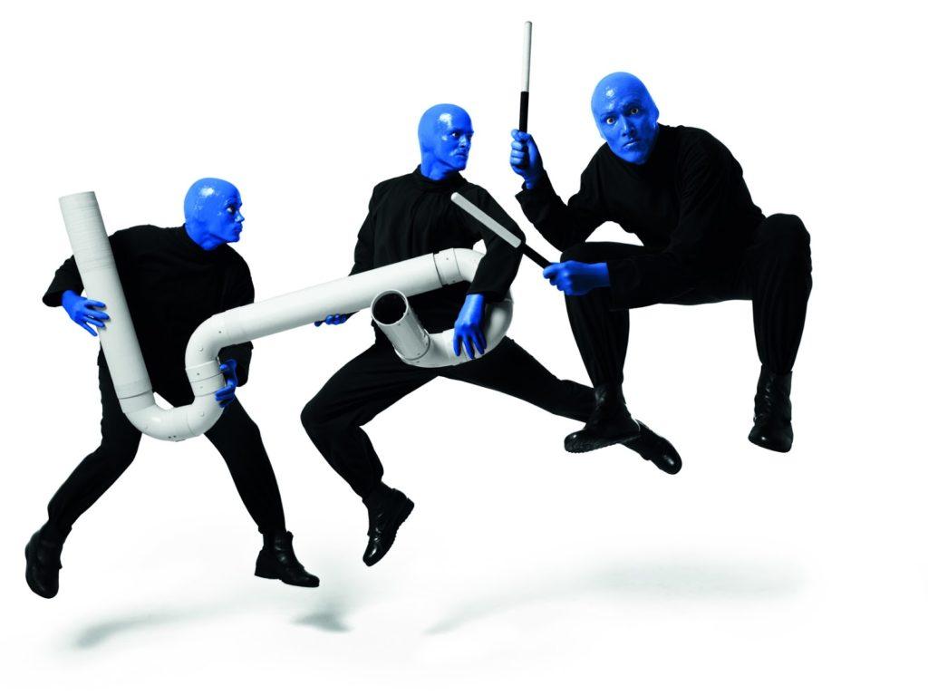 Впервые в России - шоу Blue Man Group