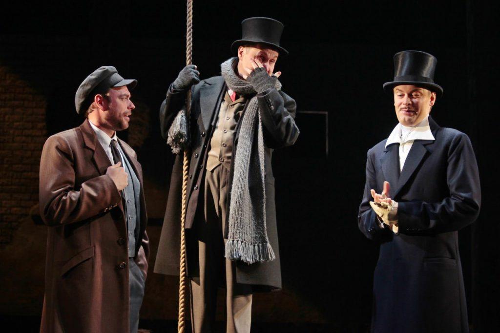 Спектакль «Бешеные деньги» в Театре Маяковского