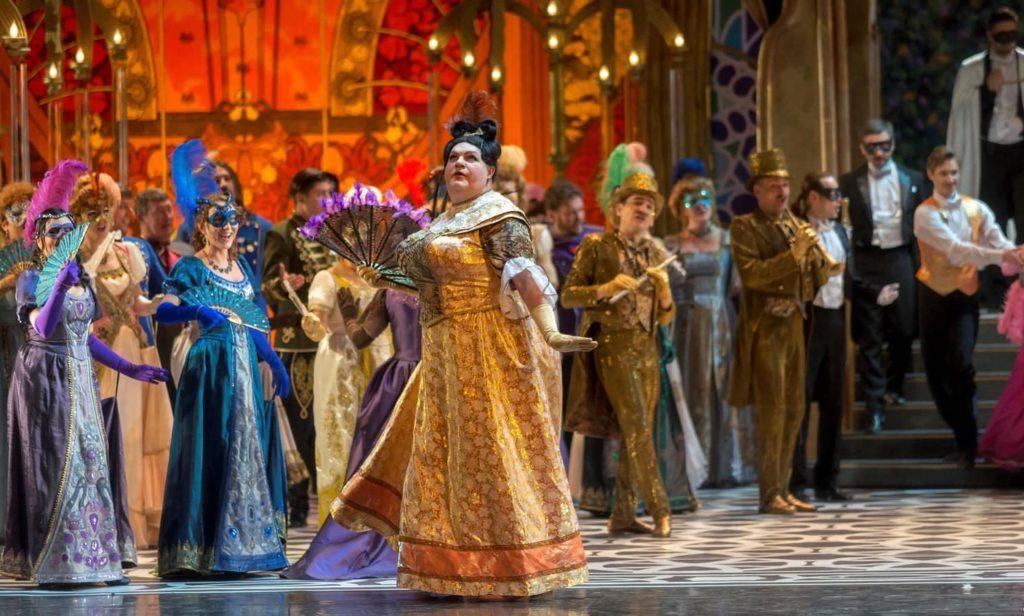 Оперетта «Бал-маскарад»в Большом театре