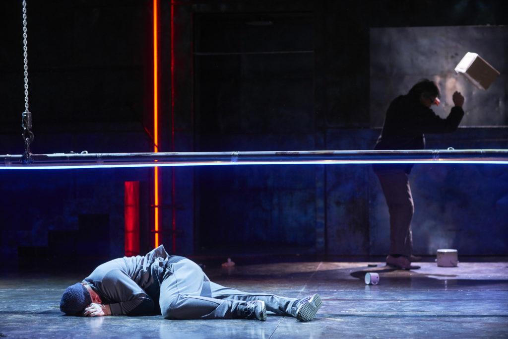 Спектакль «Изгнание» в театре Маяковского