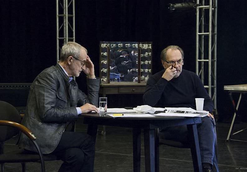 Спектакль «Фальшивая нота» в Театре Вахтангова