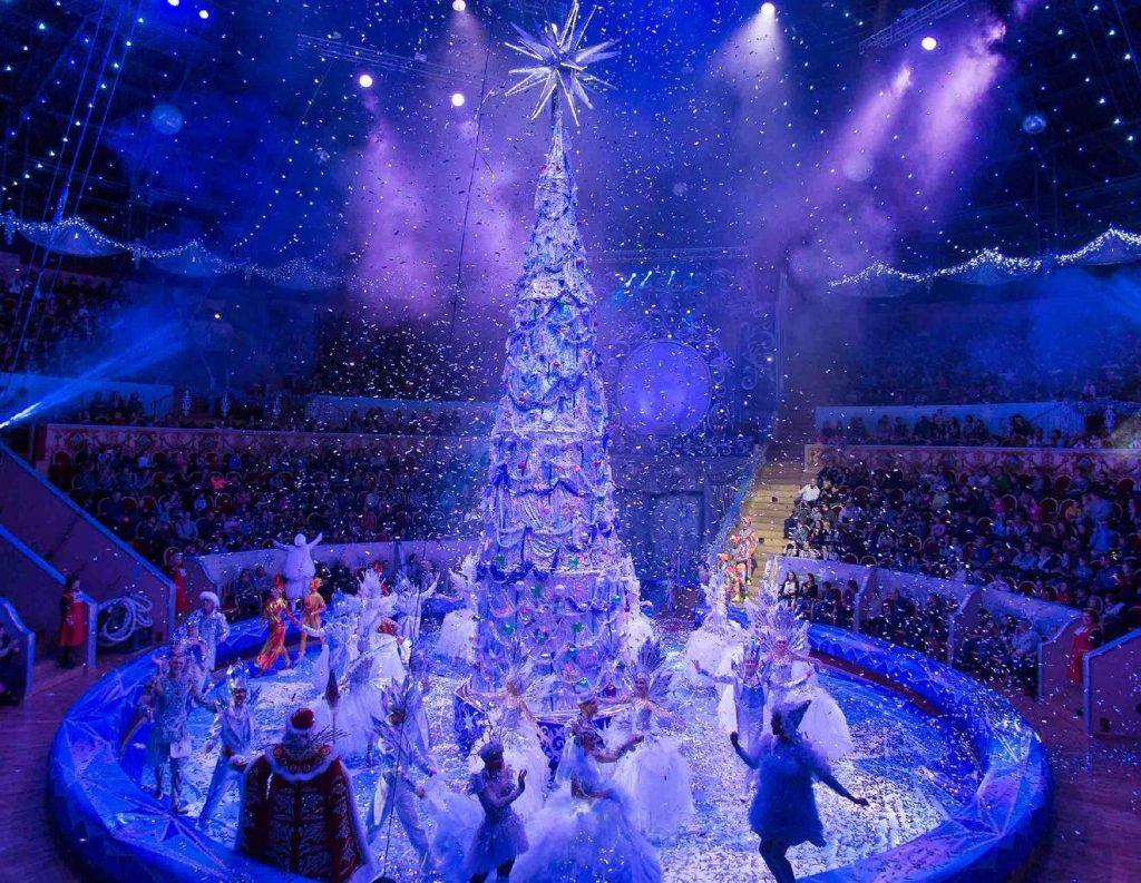 Новогоднее шоу «В поисках праздника»