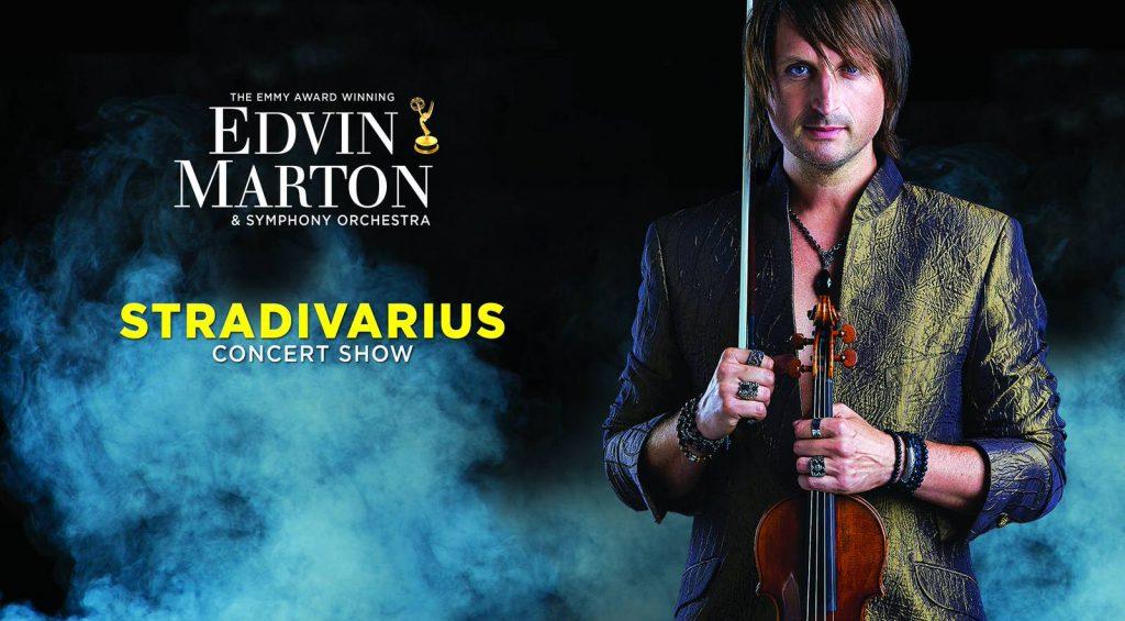 Концерт Edvin Marton. ШоуStradivarius