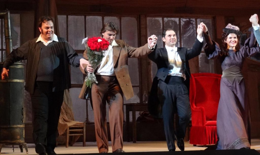 опера Богема в Большом театре билеты