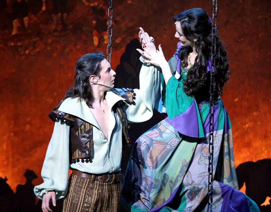 фанфан -тюльпан в Московском театре оперетты