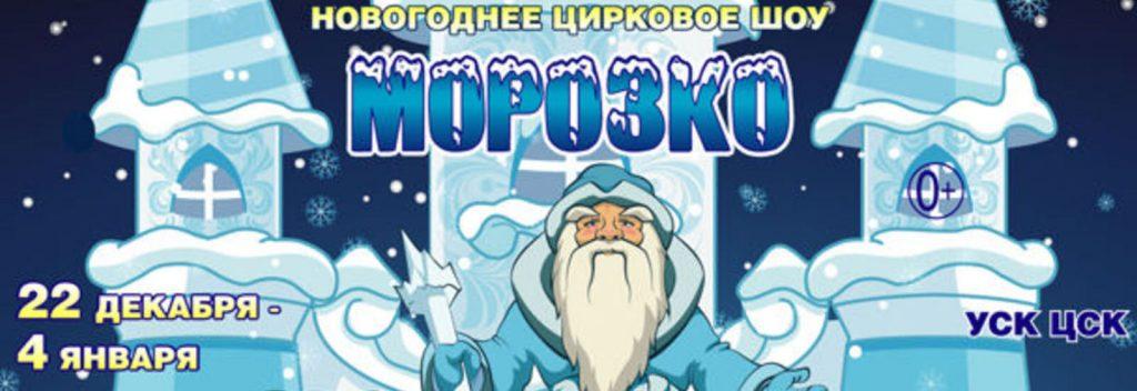 Новогоднеецирковое шоу «Морозко»