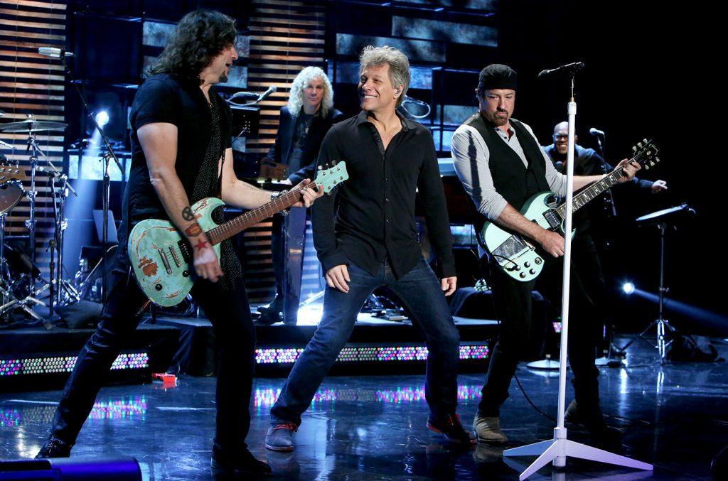 концерт Bon Jovi в Лужниках