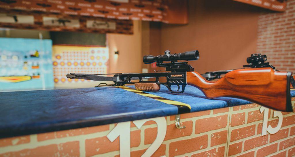 Стрелковый комплекс Shooter стрельба из арбалета
